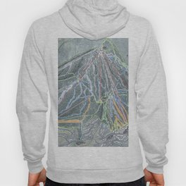 Stratton Resort Trail Map Hoody