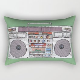 paper jams Rectangular Pillow