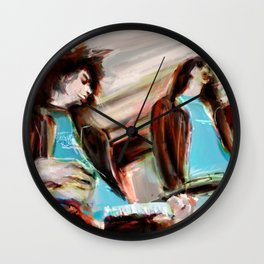 Joey & Jhonny Wall Clock