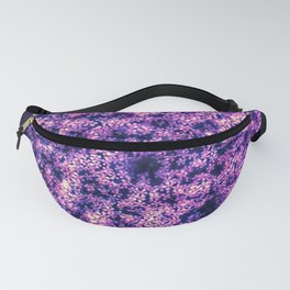 Queen Anne's Lace in Purple and White Fanny Pack