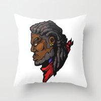 xmen Throw Pillows featuring x7 by jason st paul