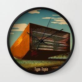TypeTopia Opera House Wall Clock