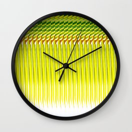 Coconut Palm Maldives 2 Wall Clock