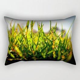 Winter Withered Grass Rectangular Pillow
