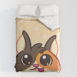 Curious Kitty Cat Comforters