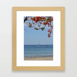 Playa Hermosa - Costa Rica Framed Art Print