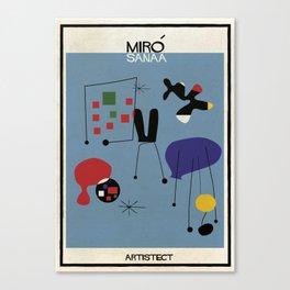 Miro+SANAA Canvas Print