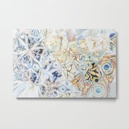 Mosaic of Barcelona XVIII Metal Print