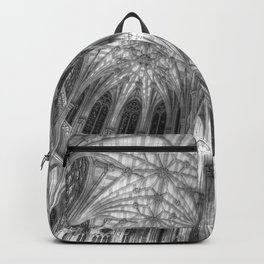 St Patrick's Cathedral Manhattan New York Backpack