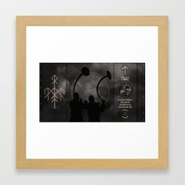 Tiwaz Framed Art Print
