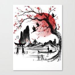 Japan dream Canvas Print