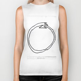 From Simplicity 2 Complexity series: Ouroboros Biker Tank