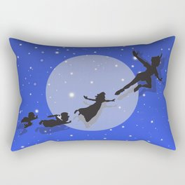 Peter Pan Magical Night Rectangular Pillow