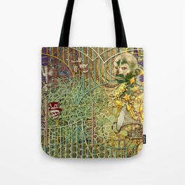 Grinding Out The Mean Layer Tote Bag