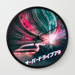 Overdrive79 Wall Clock