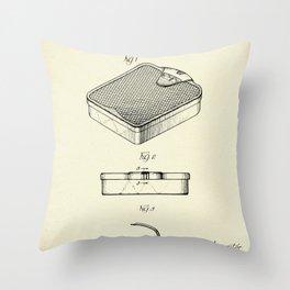Bathroom scale-1938 Throw Pillow