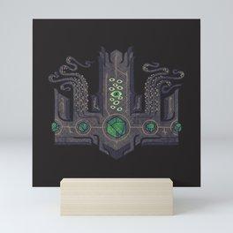 The Crown of Cthulhu Mini Art Print