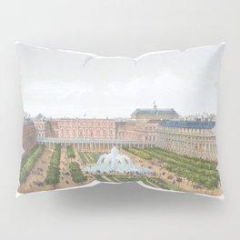 Paris art print Paris Decor office decoration vintage decor PALAIS ROYAL of Paris Pillow Sham