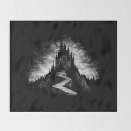 Vampire Castle Throw Blanket