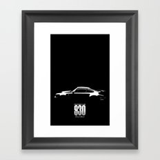 1980 930 Turbo Framed Art Print