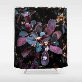 Barberry Adorned Shower Curtain