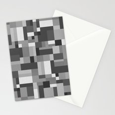 Map Tex Black and White Stationery Cards