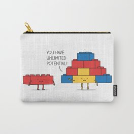 positive blocks... Carry-All Pouch