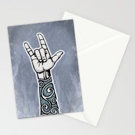 Double Rock Sleeve Stationery Cards