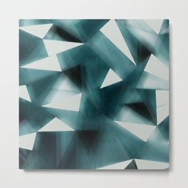 Confusion of triangles Metal Print