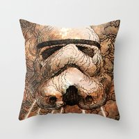 storm Throw Pillows featuring Storm by Eric Fan