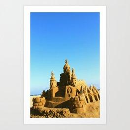 Palace of gold Art Print