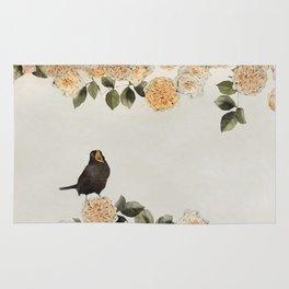 blackbirds song Rug