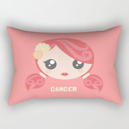 Cancer Rectangular Pillow