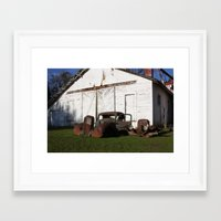 truck Framed Art Prints featuring Truck by joefoto