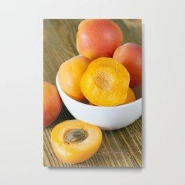 fresh apricots Metal Print