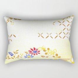 Vintage Japanese Pattern Rectangular Pillow