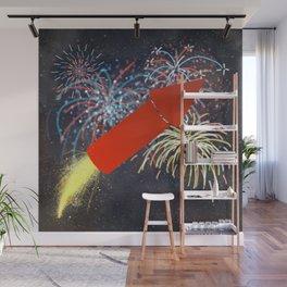 Fireworks Technician Wall Mural