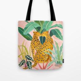 Cheetah Crush Tote Bag