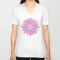 bohemian V-neck T-shirts featuring Bohemian by micklyn