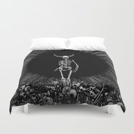 The Abyss Lord Duvet Cover