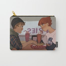 Two boys Carry-All Pouch