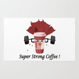 Super Strong Coffee Rug