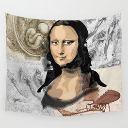 Monna Lisa Wall Tapestry