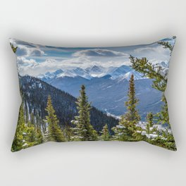 Banff-Canada-Rockies, Rocky mountaints Rectangular Pillow