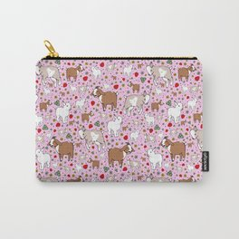 Cute Goat Design Carry-All Pouch