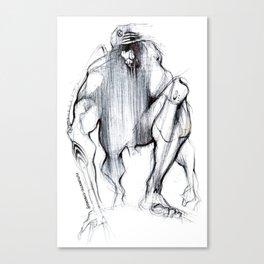 Futuristic Cyborg 1 Canvas Print