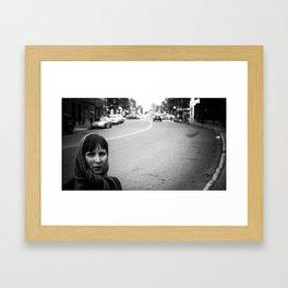 Motta lady Framed Art Print
