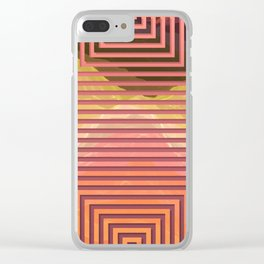 TOPOGRAPHY 2017-015 Clear iPhone Case