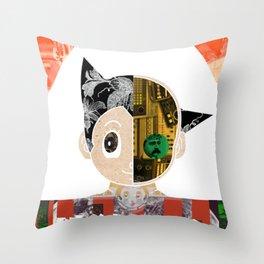 Astroboy Throw Pillow