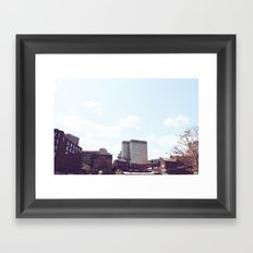 Union Oyster House Framed Art Print